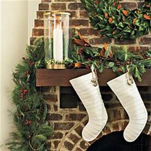 Christmas Mantels on Pinterest