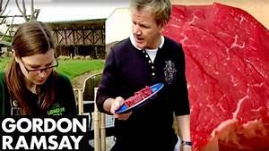 Gordon Cooks Steak For A Vegetarian - Gordon Ramsay - YouTube