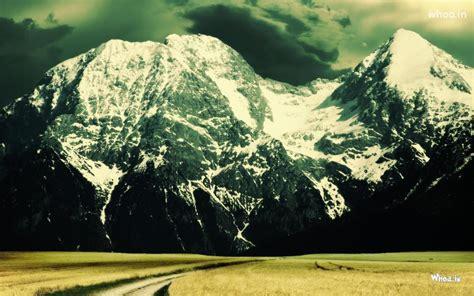 natural snow mountain hd p  p desktop wallpaper