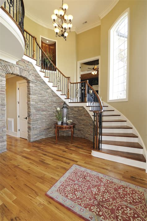 Stair Runner Over Carpet by 46 Beautiful Entrance Hall Designs And Ideas Pictures