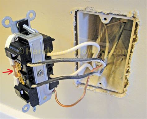 Back Wiring Electrical Receptacle by How To Replace A Worn Out Electrical Outlet Part 2