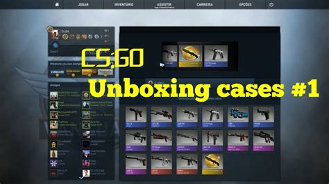 cs go unboxing cases 1