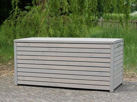 Wetterfeste Auflagenbox Auflagenbox Kissenbox Holz