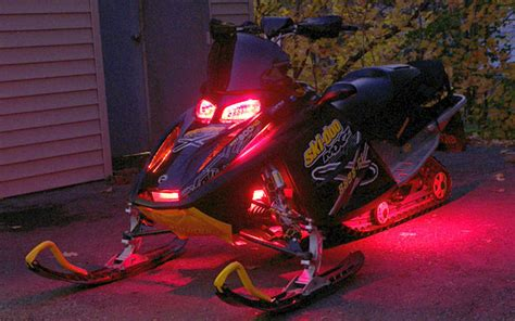 led lights for snowmobile updating your ski doo snowmobile