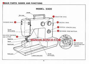 Riccar 3300 Sewing Machine Instruction Manual