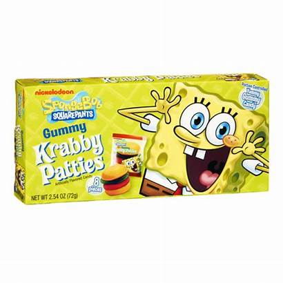 Krabby Sponge Bob Squarepants Influenster Candy Gummy