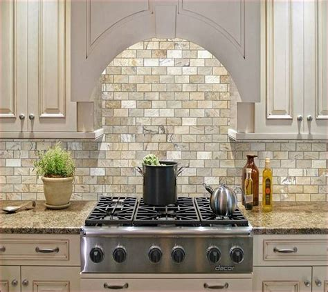 Kitchen Backsplash Centerpiece by Lowes Travertine Tile Home Designs Idea Intended For Plans