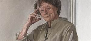 Dame Maggie Smith National Portrait Gallery Painting ...