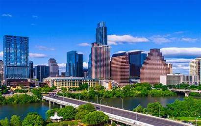 4k Austin Cities American Texas America Cityscapes