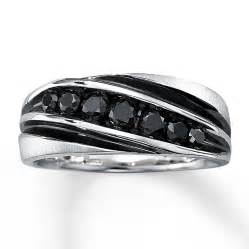 black gold mens wedding rings black rings hd mens black ring ct tw cut k white gold diamantbilds