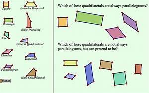 Quadrilateral Pretenders  Classifying Quadrilaterals