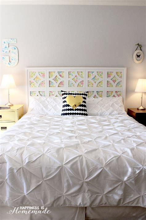 How To Make A Cheap Headboard by 31 Diy Headboard Ideas For Your Bedroom