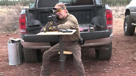 portable shooting table gunner hitch intro