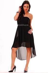 Vetement Femme Rock Chic : robe de soir e en noir v tement femme chic et fashion bas prix avec doublure 9105 ~ Melissatoandfro.com Idées de Décoration
