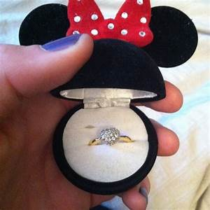15 awesome disney engagement rings the little mermaid for Minnie mouse wedding ring