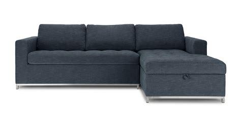 Sofa Blue Sleeper Chair Armchair Bonita Springs