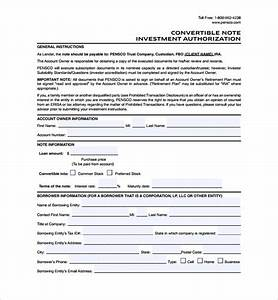 sample convertible note agreement 6 free documents With convertible note term sheet template