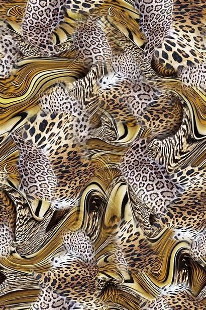 Animal Collage Digital Patterns Skin Textile Prints