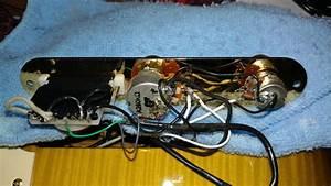 Richie Kotzen Tele Wiring Issues