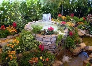 Beautiful Garden Fountains Home Design, Garden