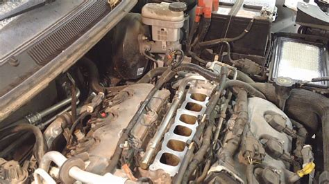 remove intake manifold  lincoln zephyr
