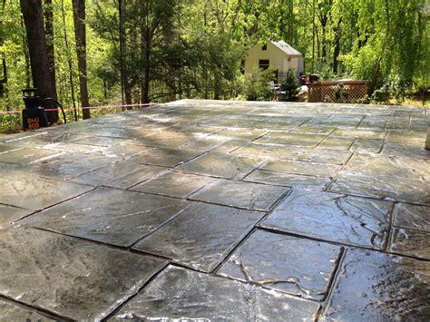 Stamped Concrete Overlay, Concrete Restoration