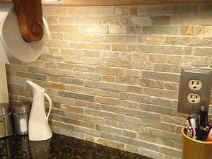 natural kitchen decor with captivating stone backsplash With kitchen cabinets lowes with more issues than vogue wall art