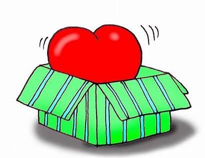 Clipart Valentine Gift Box Clip Valentines Heart