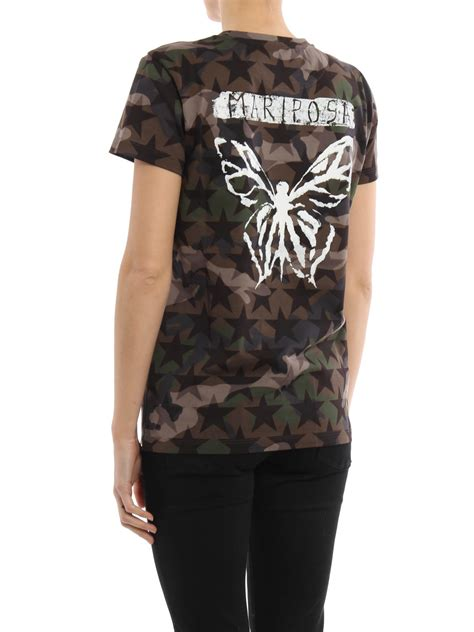 valentino t shirt camustars mariposa t shirt by valentino t shirts ikrix