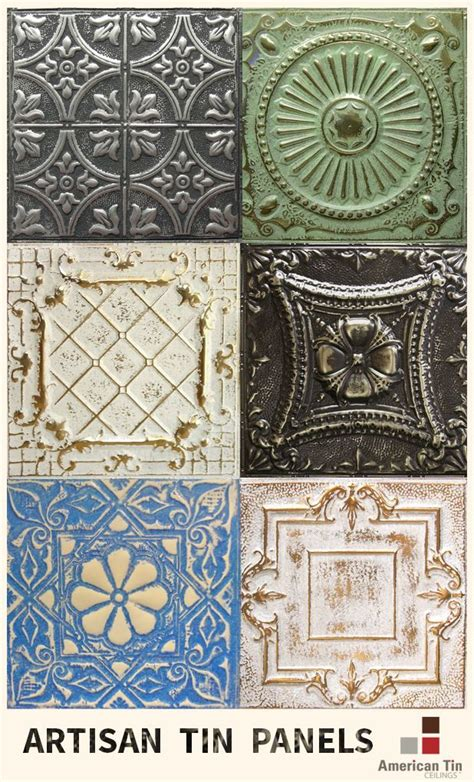 20 Best Images About Artisan Tin Tile Finishes On