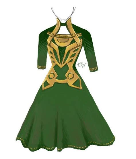 The Best Part Of This Loki Inspired Dress Is That In The