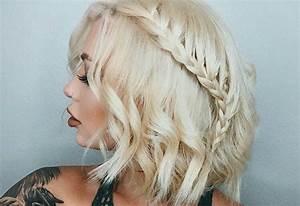 Tresse Cheveux Courts : 3 sublimes coiffures cheveux lach s coiff s ~ Melissatoandfro.com Idées de Décoration