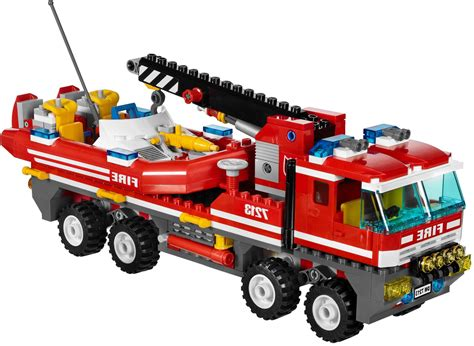 Lego Fire Truck And Boat lego city 7213 off road fire truck and fireboat i