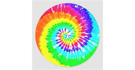 tie dye rainbow swirl neon rainbow colors pattern classic