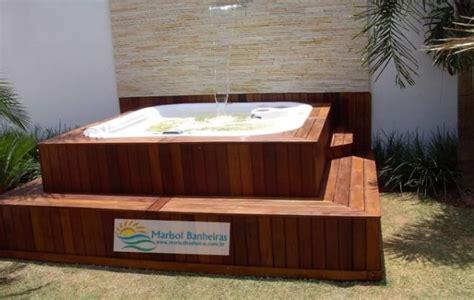deck e modelos de banheiras spas e decks