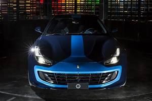 Ferrari Gtc4lusso Prix : ferrari gtc4lusso azzurra un mod le unique par garage italia l 39 argus ~ Gottalentnigeria.com Avis de Voitures