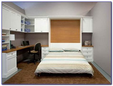 Murphy Beds With Attached Desk   Desk : Home Design Ideas