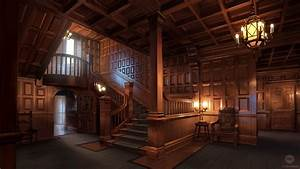 School Mansion Interior (VN Background) by ExitMothership ...