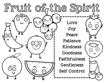 fruit of the spirit unit bible lesson for by doodle 848 | original 981216 2