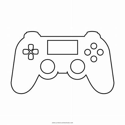 Controller Coloring Ps4 Drawing Disegni Playstation Desenho