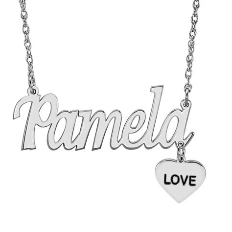 ladies dangle  necklace personalized jewelry