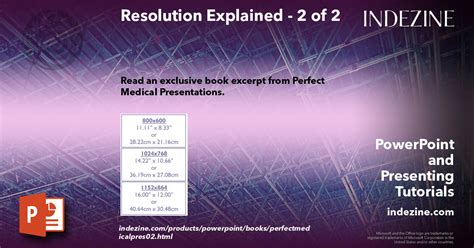 Resolution Explained 2 Of 2
