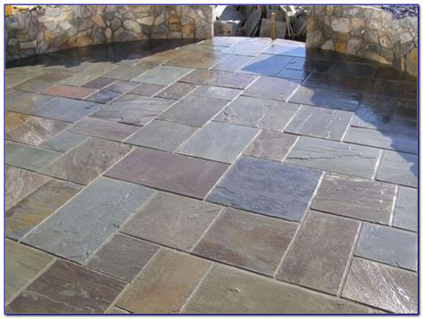 Menards Patio Paver Patterns by Flagstone Patio Pavers Menards Patios Home Decorating