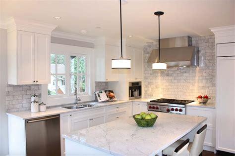 kitchen backsplash tiles pictures 25 breathtaking carrara marble kitchens for your inspiration