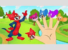 Tom And Jerry Spiderman Five Fingers Suit With Five