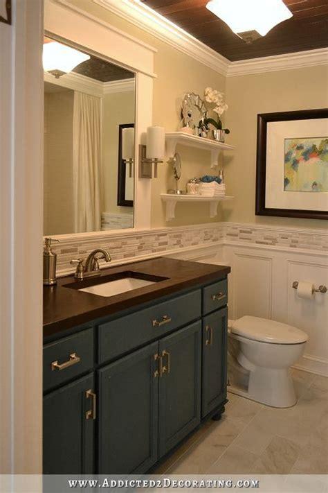 Bathroom Mirror Remodel by Diy Bathroom Remodel Before And After Bathroom