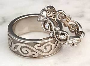 Unique Wedding Rings – Unique Wedding Bands | Diamond ...