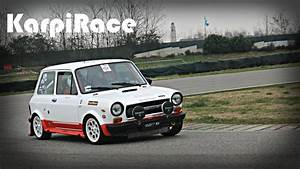 Autobianchi A112 Abarth Rally Action On Track