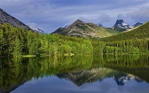 Alberta, Lake, Canada