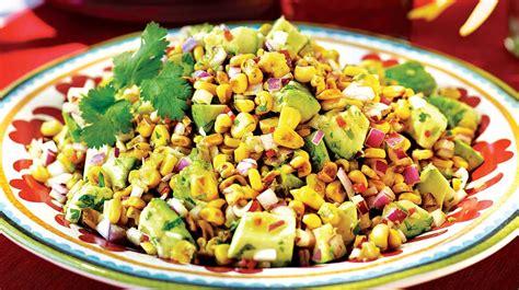 cuisiner l avocat salade d avocats et de maïs